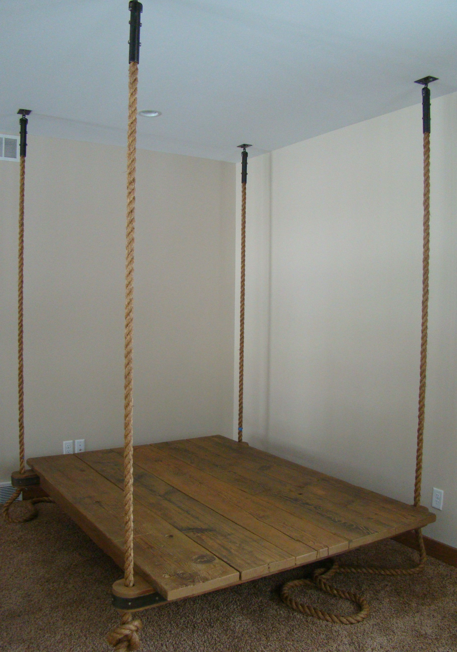 Trampoline bed tumblr - New Hanging Bed Preview Ben Riddering Shop Blog