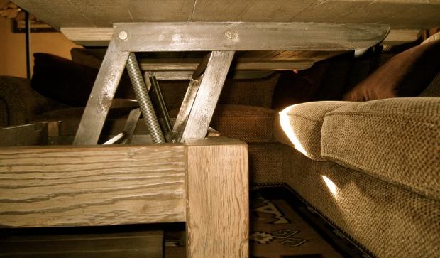 Diy lift top coffee table mechanism wooden pdf making for Lift top coffee table building plans