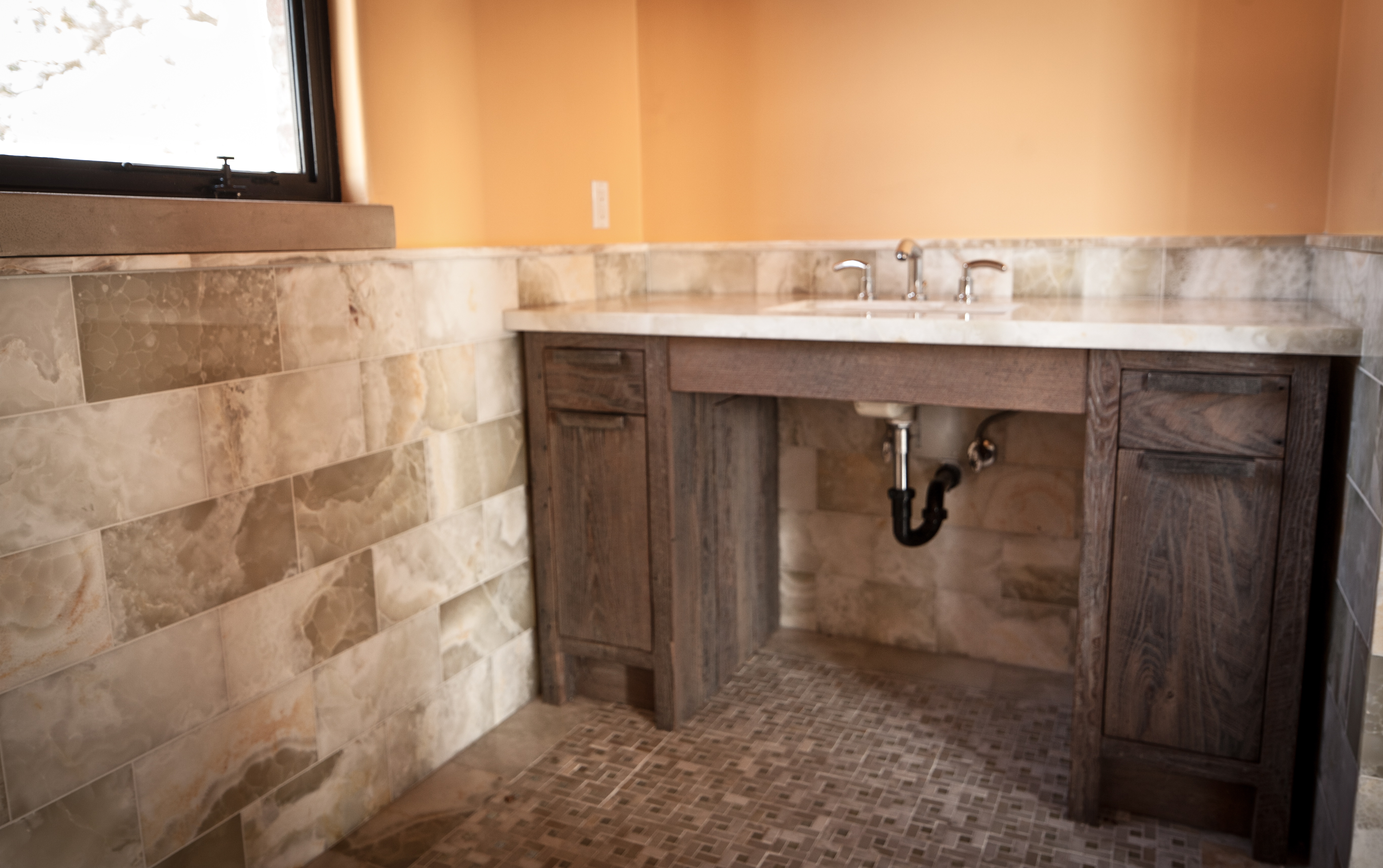 Rustic Modern Bathroom Vanities rustic modern bathroom vanities | ben riddering / shop blog