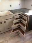 Walnut creek corner drawers