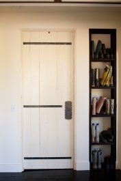 Laundry door (double action swing)