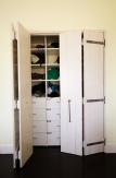 Bifolding plank doors