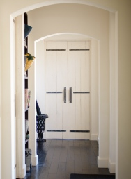 Double plank doors