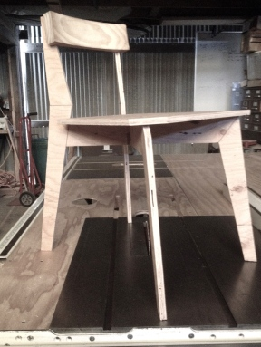 Chair mockup