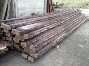 "Barrel staves (14' long 2.25"" thick)"