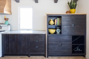 Dining area cabinet