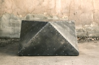 steel-clad cubodron coffee table
