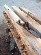 6 x 8 oak beams