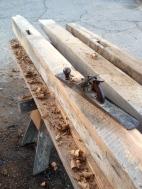 6 x 8 oak beams