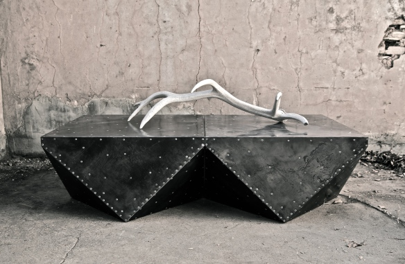 Steel-Clad Coffee Tables