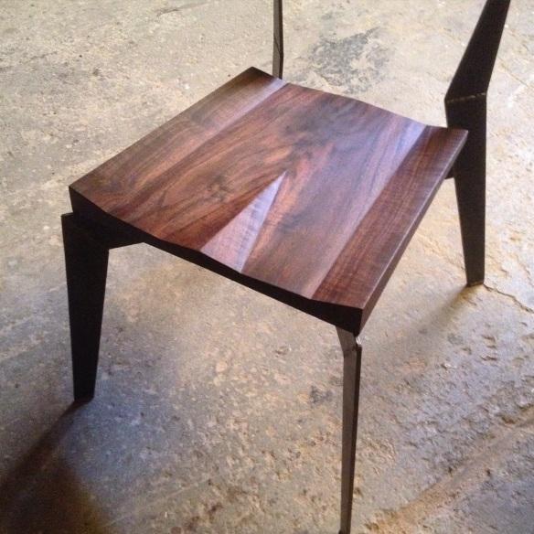 walnut seat