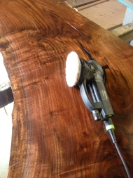 Festool abrasive pad between coats