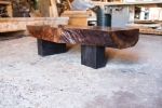 organic modern coffee table (live edge)