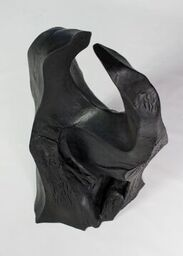 blackened sculpture